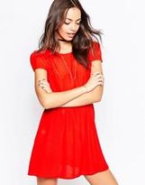 Motel Topi Dress Red Viscose