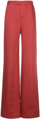 Altuzarra Higbie flared trousers