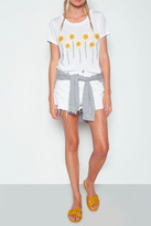 Lauren Moshi Daisy Embroidered Tee