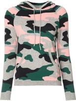 Chinti and Parker military print hoodie - women - Cashmere/Mercerized Wool - XS