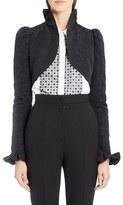 Dolce & Gabbana Women's Ruffle Jacquard Bolero Jacket
