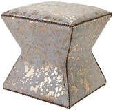 Massoud Furniture Althea Stool - Gold Spots
