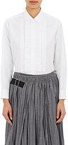 Comme des Garcons Women's Tuxedo Shirt-WHITE