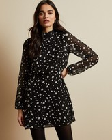 Ted Baker FLOELLE Polka dot tunic dress