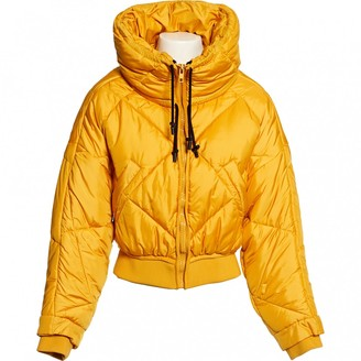 Sportmax Yellow Polyester Jackets