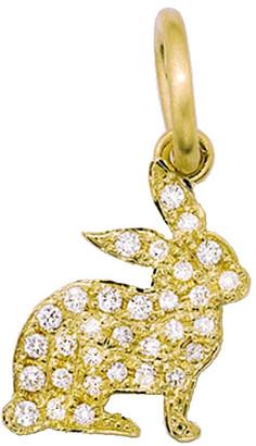 Irene Neuwirth Diamond Pave Bunny Charm - Yellow Gold