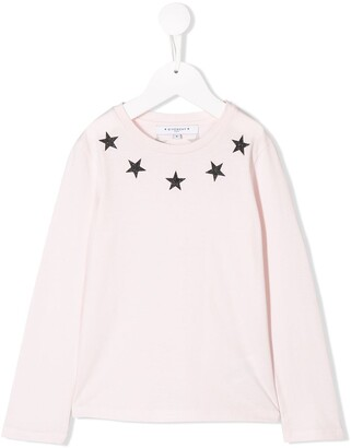 Givenchy Kids star neckline T-shirt
