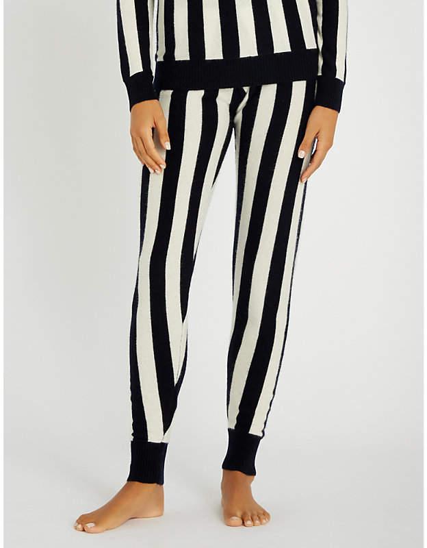 Madeleine Thompson Leonis slim-fit cashmere trousers