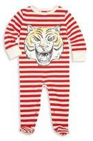 Stella McCartney Baby's Striped Cotton Footie