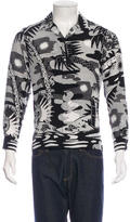 Saint Laurent Punk Aloha Shirt