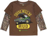 John Deere Brown 'There Will Be Mud Tee' Layered Tee - Infant & Toddler