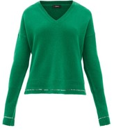Joseph V-neck Cashmere Sweater - Womens - Green