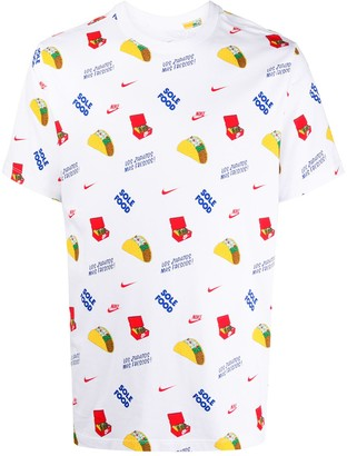 Nike Food Print T-Shirt