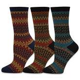 TeeHee Socks TeeHee Winter Jacquard Fashion Crew Socks for Women 3-Pack