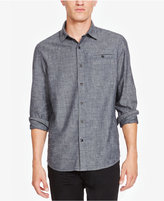 Kenneth Cole New York Men's Slim-Fit Chambray Shirt