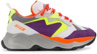 MSGM wedge sneakers