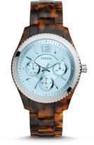 Fossil Stella Multifunction Tortoise Acetate Watch
