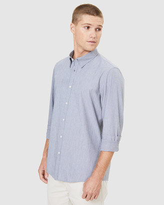 French Connection Men's Casual shirts - End On End Classic Fit Shirt - Size One Size, L at The Iconic