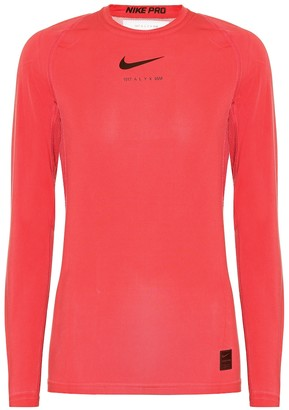 Alyx x Nike stretch-jersey top