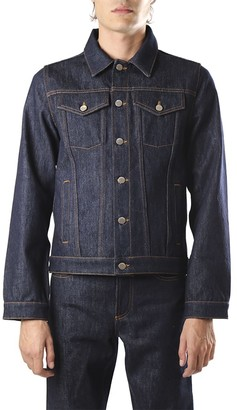 J.W.Anderson Denim Jacket With Back Embroidery