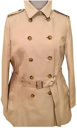 Lauren Ralph Lauren Beige Cotton Trench Coat for Women