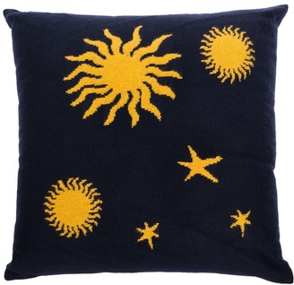 The Elder Statesman Astronomy knit pillow