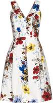 Erdem Carmel Flora-print cotton-canvas dress
