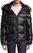 S13/Nyc Men's Stowe Faux Fur-Trimmed Quilted Puffer Jacket