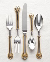 Wallace 45-Piece Gold Napoleon Bee Flatware Service