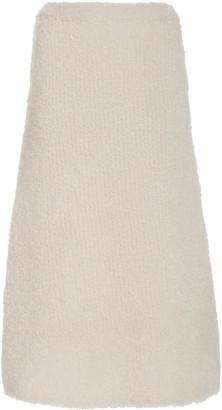 Totême Nevis Mohair-Blend Pencil Skirt