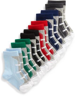 Nordstrom 6-Pack Sneaker Crew Socks