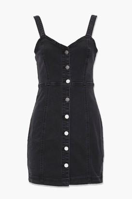 Forever 21 Denim Button-Down Dress