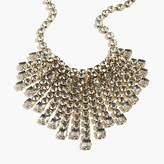 J.Crew Cascading crystal necklace