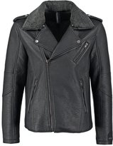 Brooklyn's Own By Rocawear Faux Leather Jacket Black