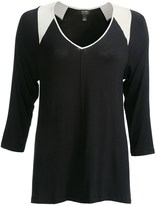 Nicole Miller Stretch Rayon Loungewear Shirt (For Women)