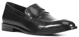 Geox Men's Saymore Apron-Toe Penny Loafers