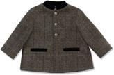 Marie Chantal Velvet Collar Formal Coat