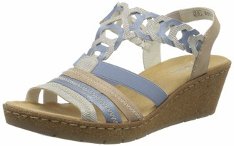 Rieker Women's Fruhjahr/Sommer V1975 Closed Toe Sandals