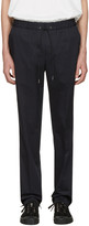TOMORROWLAND Navy Easy Trousers
