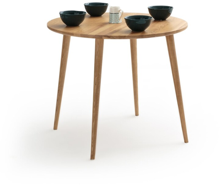 Thumbnail for your product : La Redoute Interieurs Crueso Round Ash Dining Table (Seats 4)
