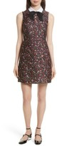 Kate Spade Women's Detachable Collar Floral Jacquard Dress