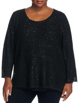 Sioni Plus Sequined Sweater