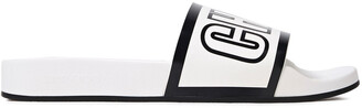 Jimmy Choo Rey Logo-print Rubber Slides