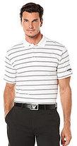 Callaway Opti-Dri Horizontal Stripe Polo Shirt