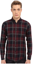 Naked & Famous Denim Regular Herringbone Soft Check Shirt
