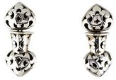 John Hardy Double Heart Drop Earrings