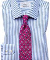Charles Tyrwhitt Classic fit Bengal stripe sky blue shirt