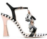 Sophia Webster 'Layla' flower tassel sandals - women - Leather - 39