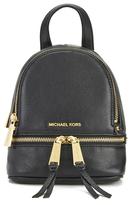 MICHAEL Michael Kors Rhea Zip Small Crossbody Backpack Black