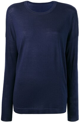 Sottomettimi Long-Sleeve Fitted Sweater